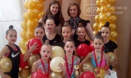 Броварські гімнастки завоювали нагороди на турнірі в Білій Церкві, фото-1