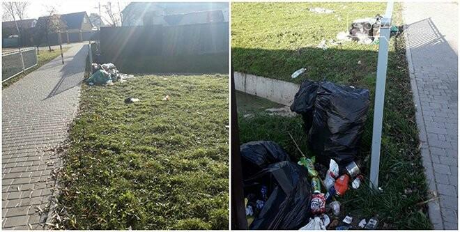 Моя хата з краю: мешканці Броварів  – скидають просто неба мішки зі сміттям, фото-1