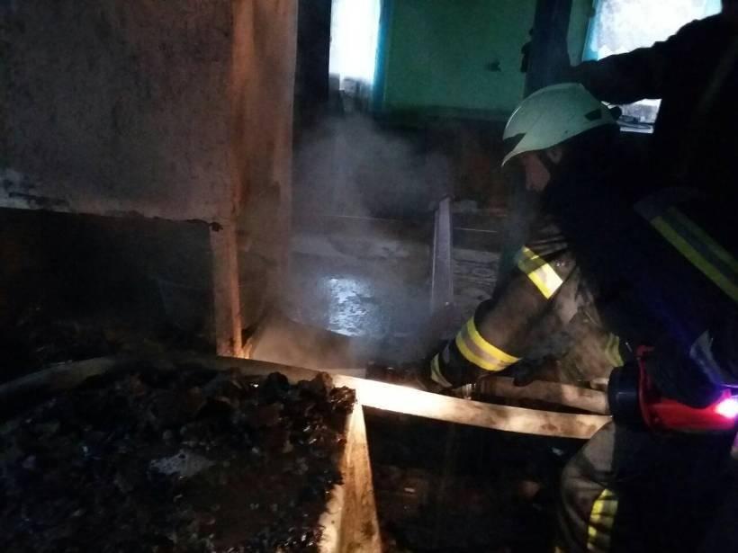Пожежа в Броварському районі, фото-1