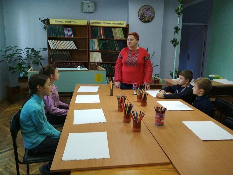 Броварська бібліотека провела заняття для дітей , фото-1