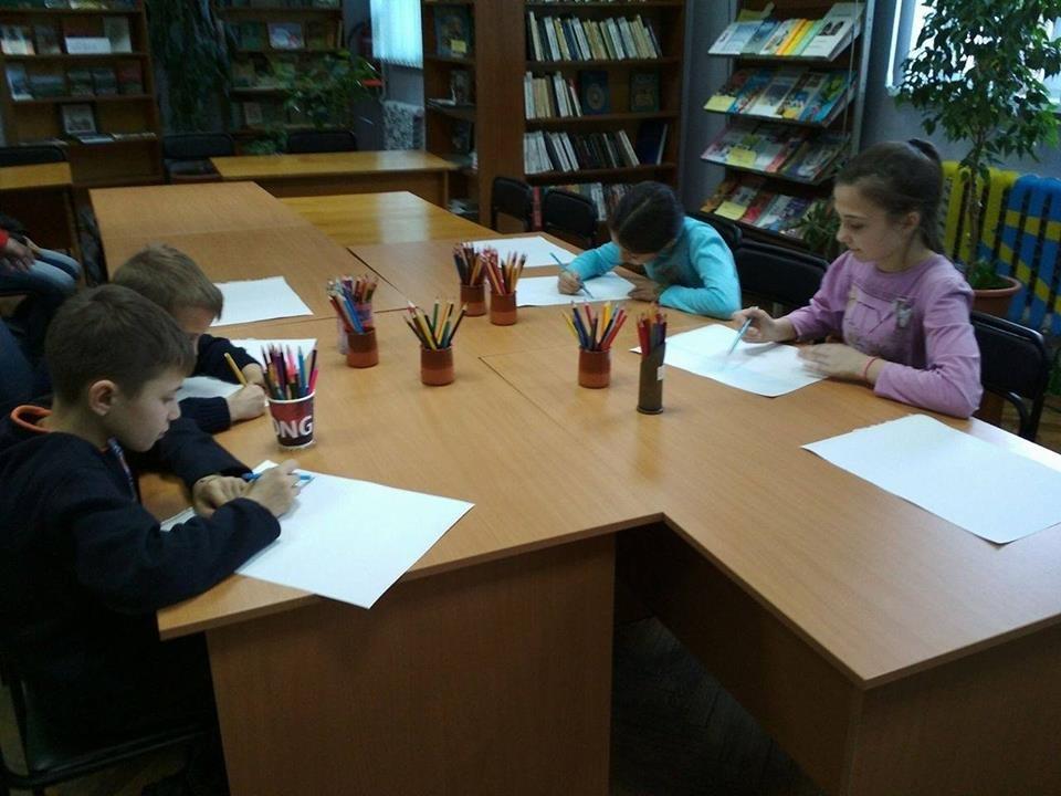 Броварська бібліотека провела заняття для дітей , фото-7