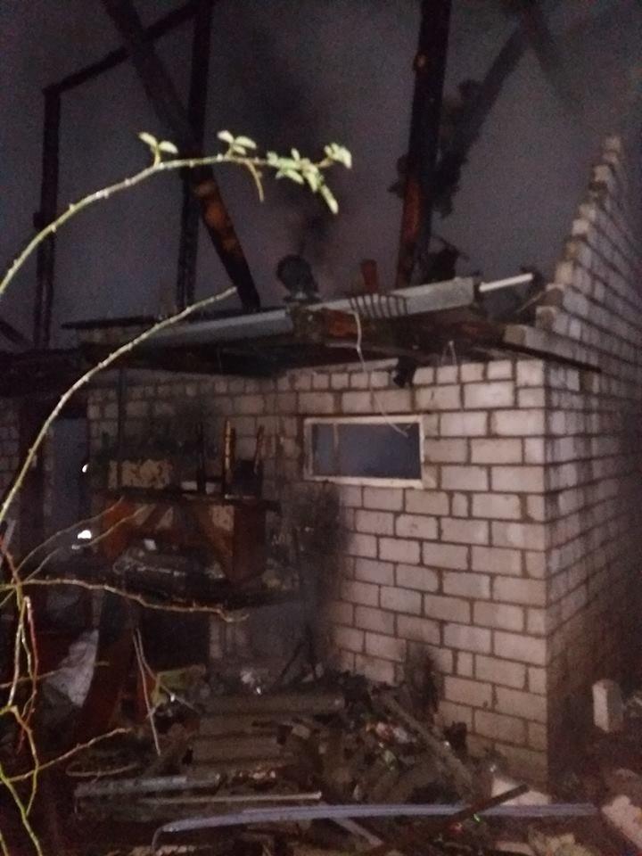 Пожежа на Броварщині , фото-1