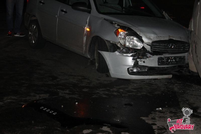 ДТП у Броварах за участю 4 автомобілів , фото-1