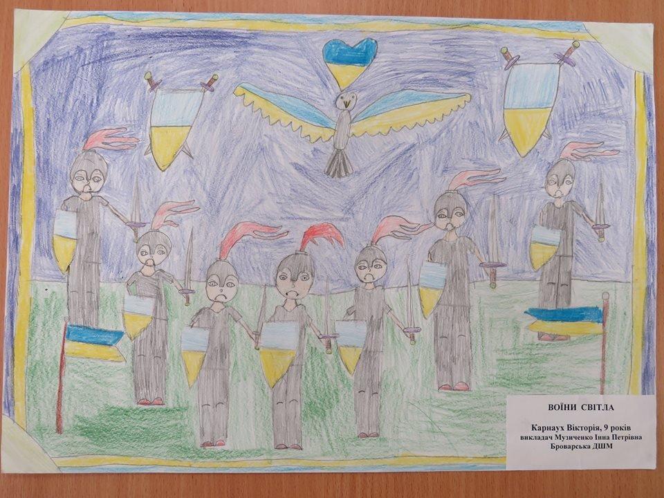 У Броварах відбувся конкурс дитячого патріотичного малюнку, фото-6