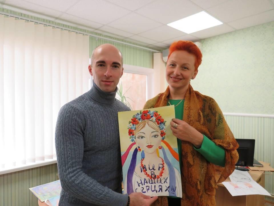 У Броварах відбувся конкурс дитячого патріотичного малюнку, фото-8