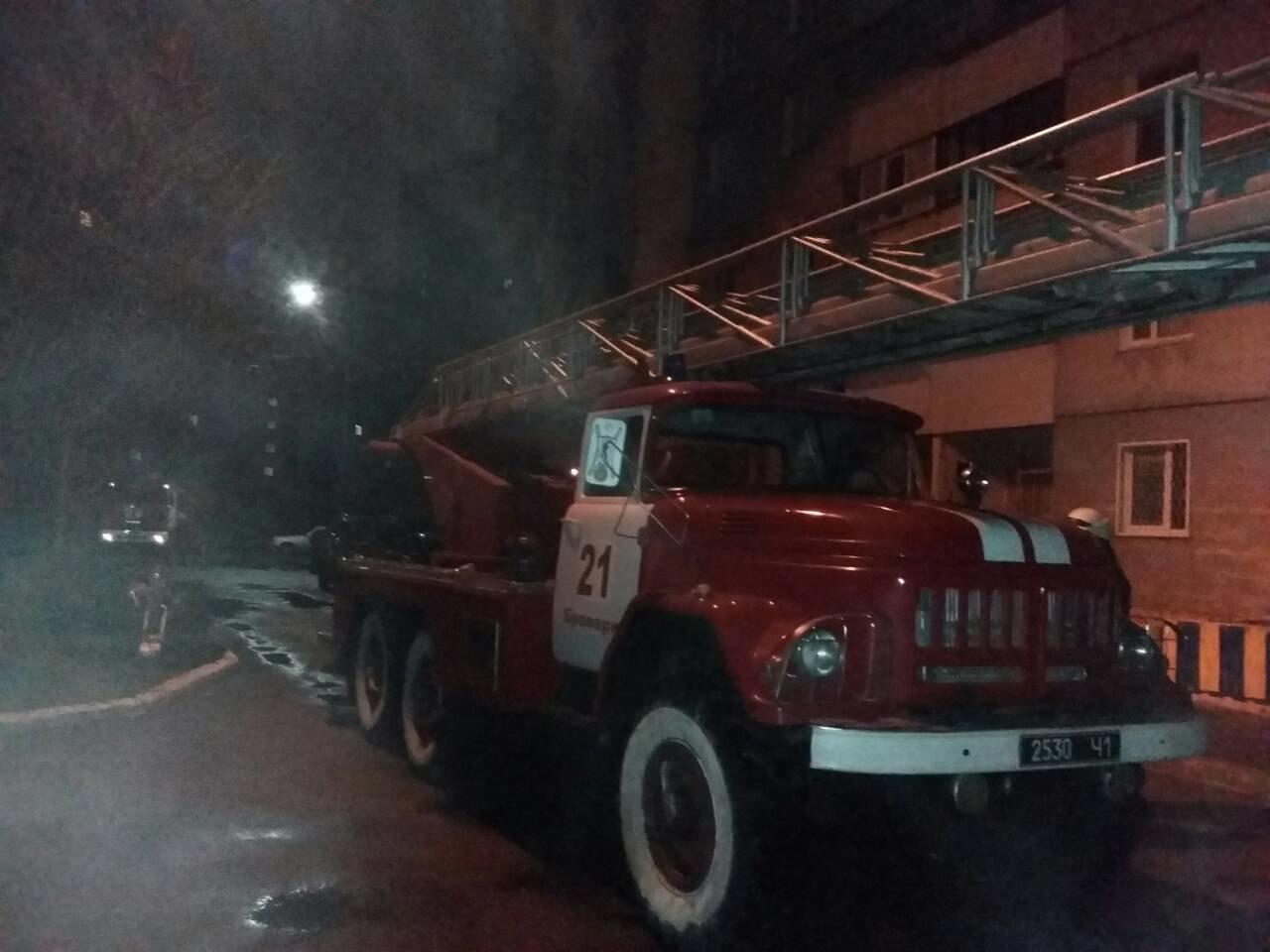 У Броварах горіла шахта ліфта , фото-1