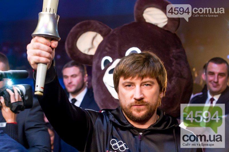 Беринчик вийшов на ринг у костюмі олімпійського ведмедика, фото-1