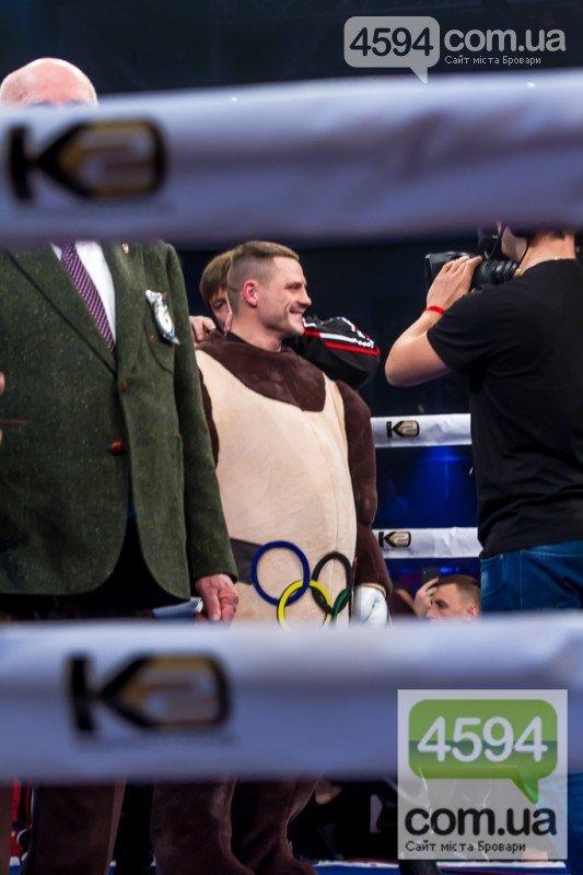 Беринчик вийшов на ринг у костюмі олімпійського ведмедика, фото-3