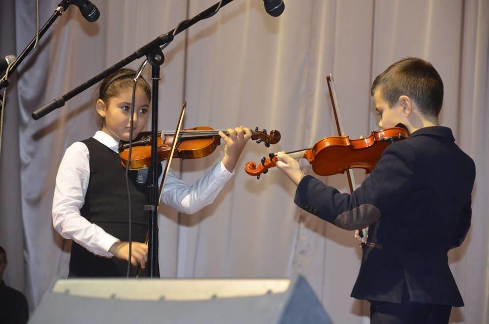 Учні дитячої музичної школи Броварів дебютували на сцені «Прометею», фото-2