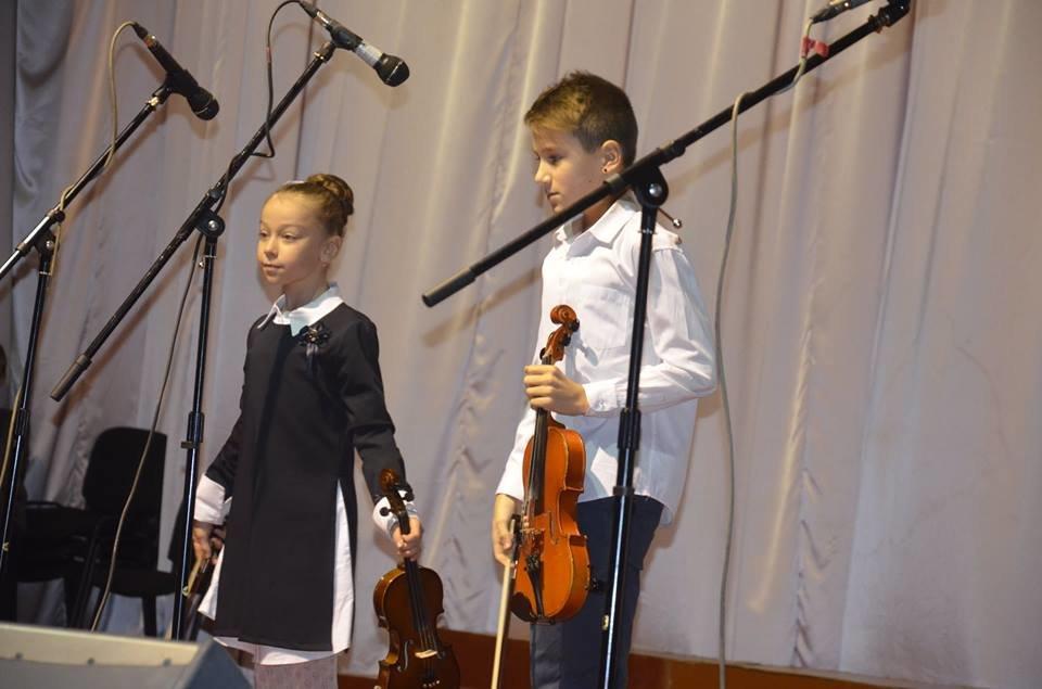 Учні дитячої музичної школи Броварів дебютували на сцені «Прометею», фото-5
