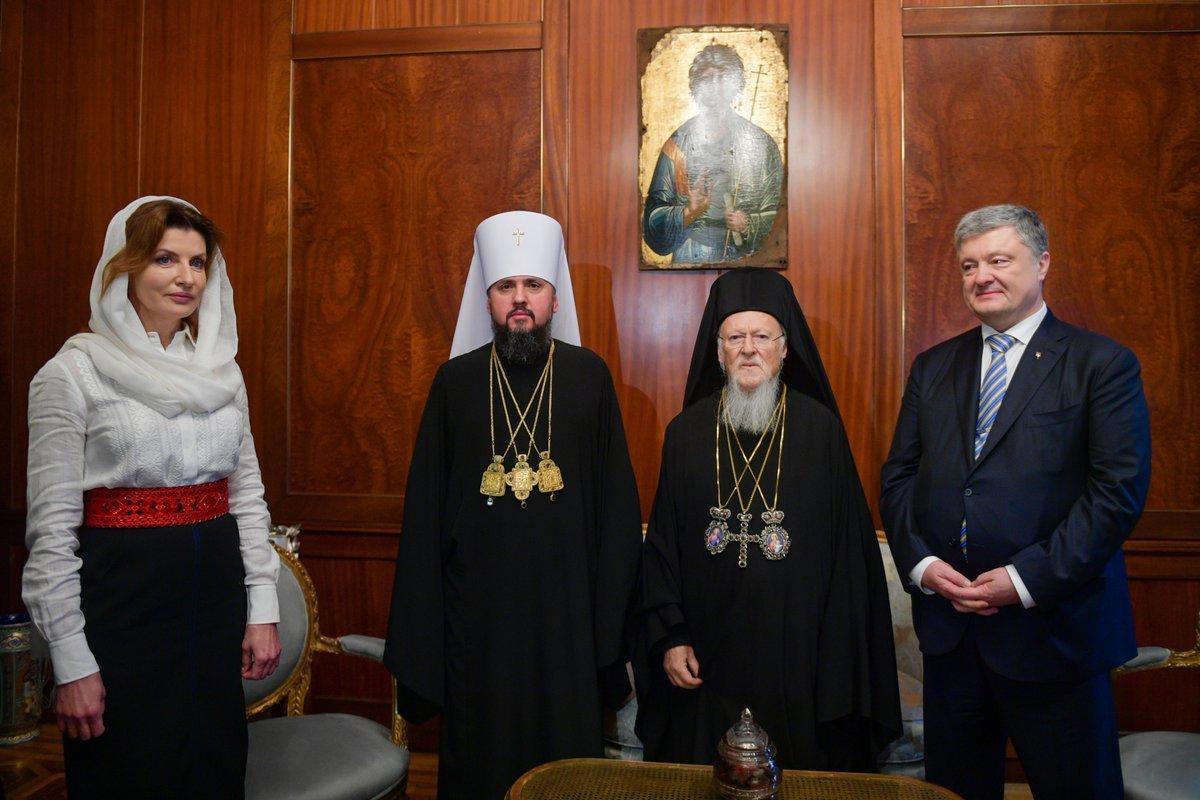 Варфоломій підписав томос для Православної Церкви в Україні, фото-1