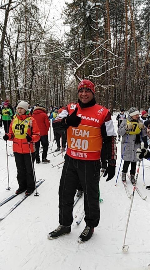 Зимово-спортивні змагання серед адміністративних структур Броварів, фото-2