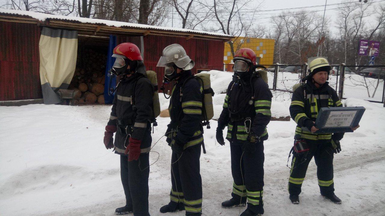 Броварські пожежники провели тренування та перевірили свої знання, фото-1