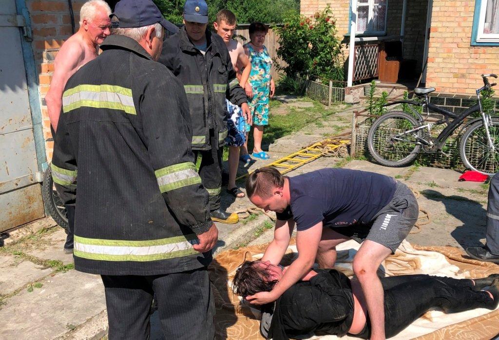 В Броварському районі жінка впала у колодязь, фото-1