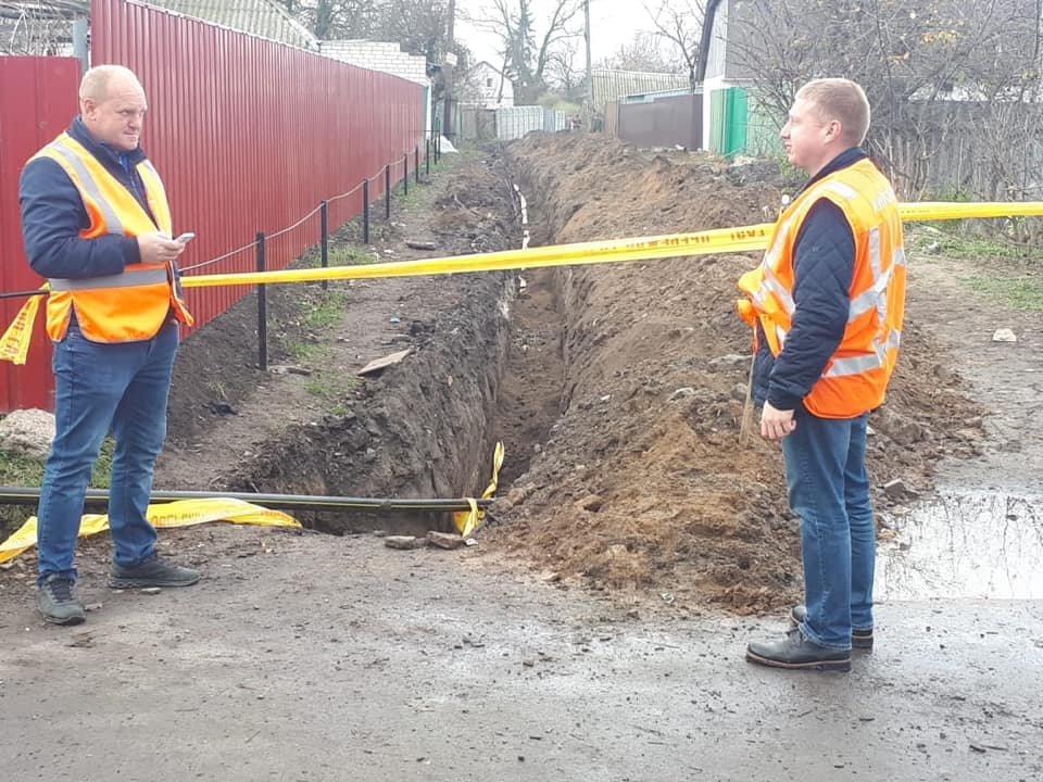 В Броварському районі на місці газопроводу виявлено міну  , фото-1
