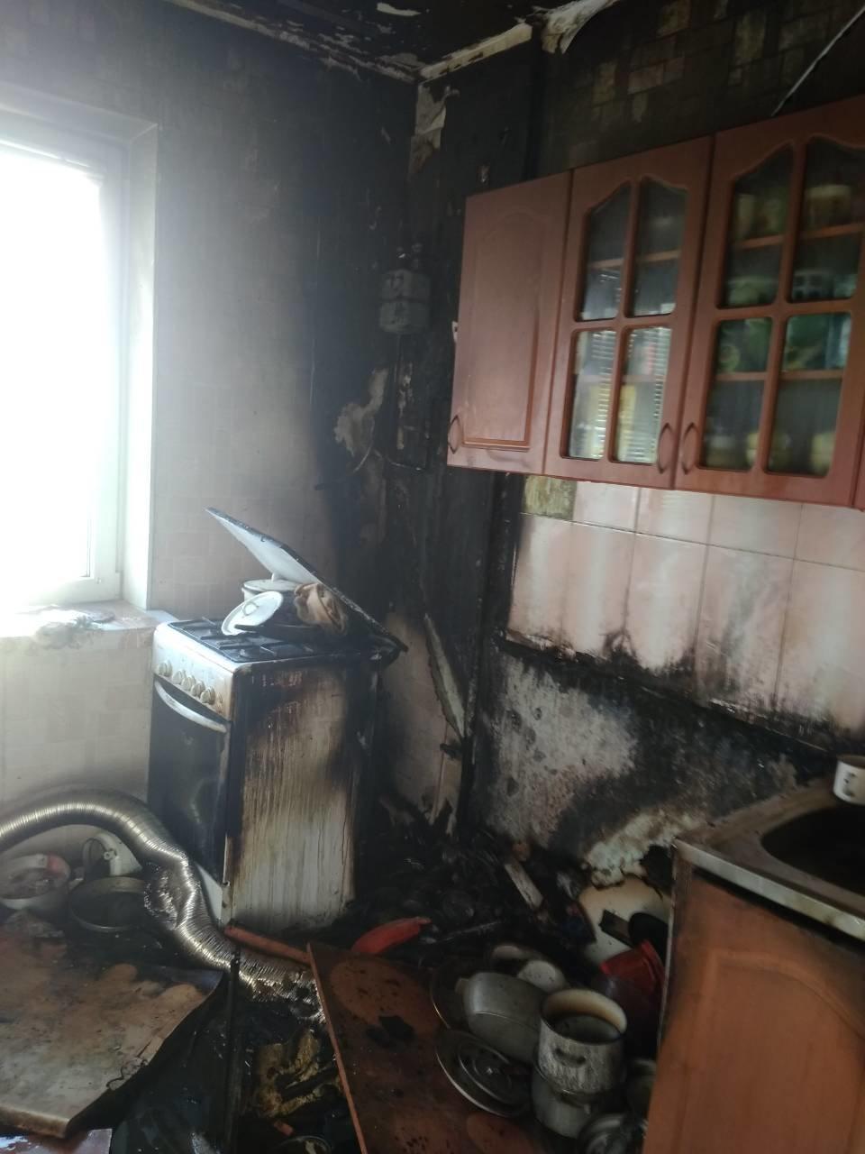 Через пожежу в Броварах евакуювали людей, фото-1