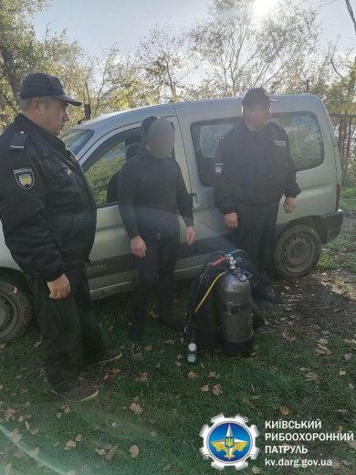 На Броварщині спіймали браконьєра, фото-1