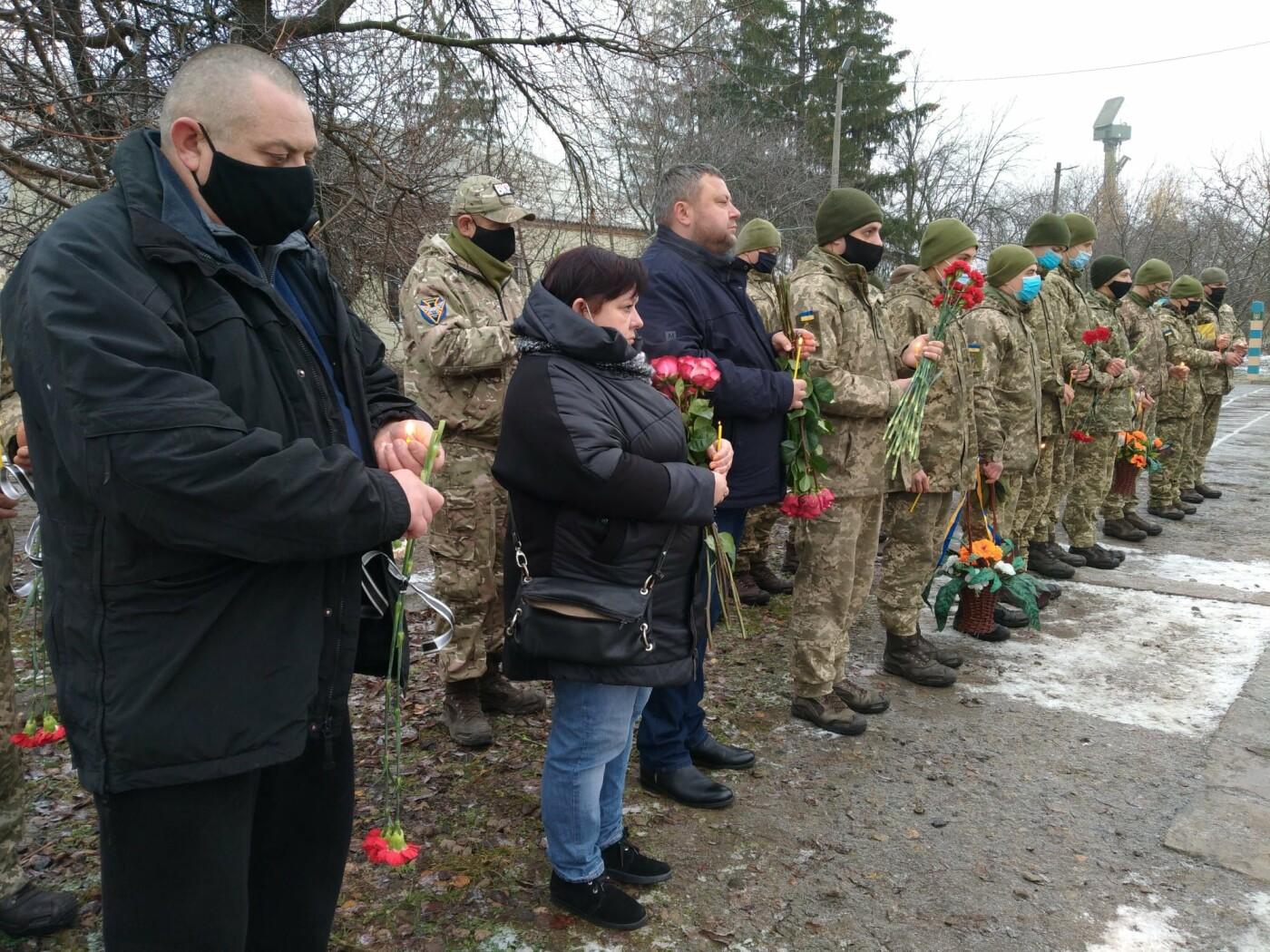 В Броварах відкрили пам'ятну меморіальну дошку загиблому воїну, фото-1